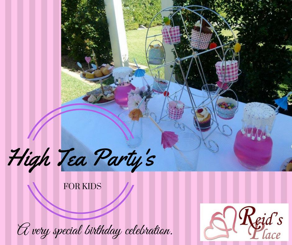 High Tea Birthday Party Ideas